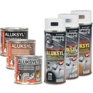 Aluksyl 0910 stříbrná Spray 400ml