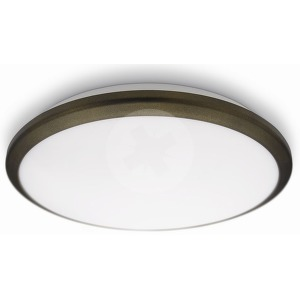 NOV 2014 denim ceiling lamp LED bronze 1x8W