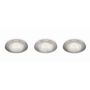 NOV 2014 SCEPTRUM recessed LED nickel 3x4W 2